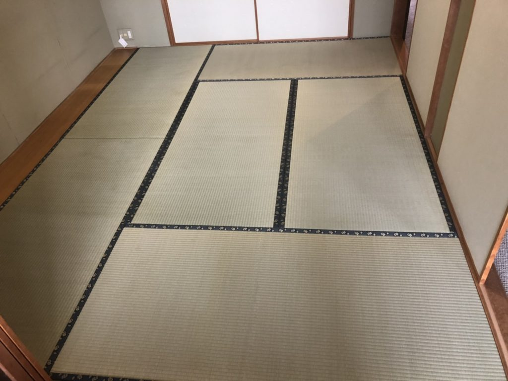 富士見市 い草畳表替え 国産い草熊本ひのはるか